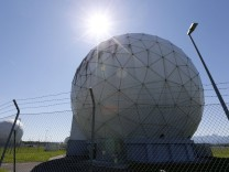 Former monitoring base of the NSA, which belongs to the German Federal Intelligence Agency (BND), is seen in Bad Aibling
