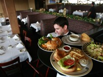 Service Sector Index, Including Restaurant Industry, Posts Large Declines