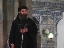 Isis-Chef Abu Bakr al-Baghdadi