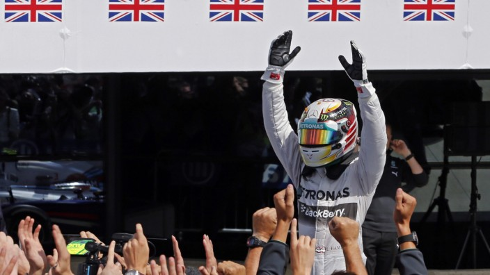 Formel 1, Lewis Hamilton, Mercedes, Silverstone