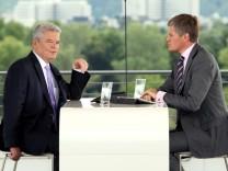 ZDF-Sommerinterview: Joachim Gauck