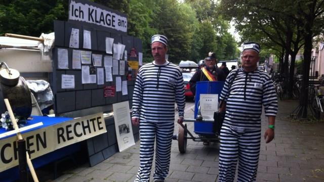 Mollath Unterstützer Demo