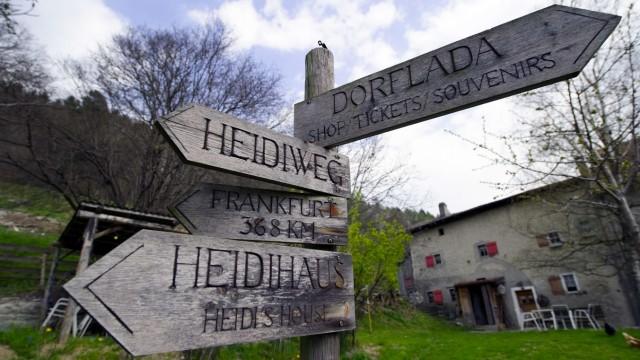 Schweiz Heile Welt im Heidi-Land