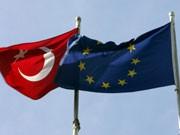 Flaggen: Türkei und EU; dpa