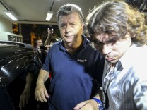 World Cup 2014 - BRAZILIAN POLICE ARRESTS CHIEF EXECUTIVE OF WORL