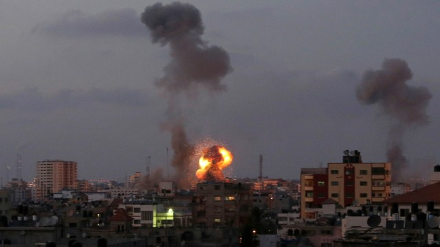 Nahostkonflikt Israelische Offensive im Gazastreifen