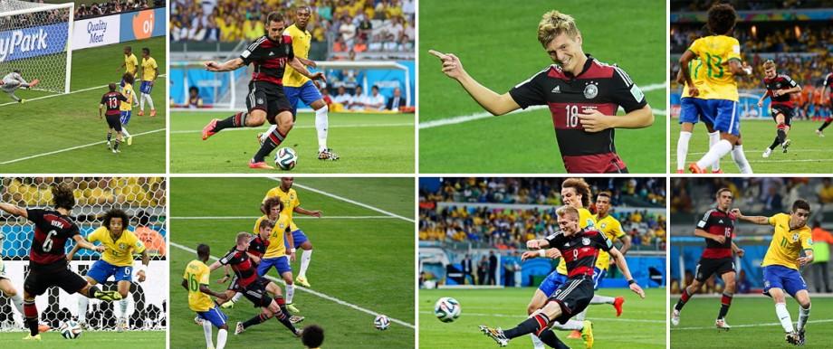 Deutschlands 7 1 Gegen Brasilien Im Siebten Himmel Sport