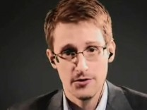Edward Snowden participates in PACE hearing