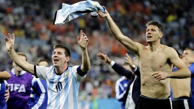 Fußball-WM Argentiniens Finaleinzug bei der Fußball-WM