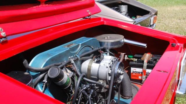 Der Motor des Puma GTS 1600
