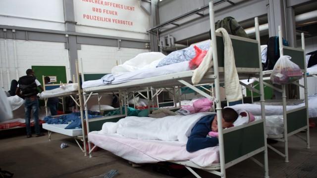 Flüchtilingsunterkunft in München