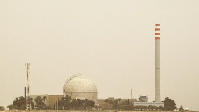 Atomenergie Israels Nuklearanlage in der Negev-Wüste