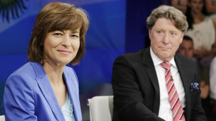 Berlin ZDF Polit Talk Maybrit Illner Thema Alles oder nichts wird Deutschland jetzt Weltmeister