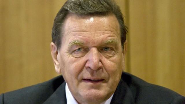 Ex-Kanzler Schröder in russische Wissenschafts-Akademie aufgenommen