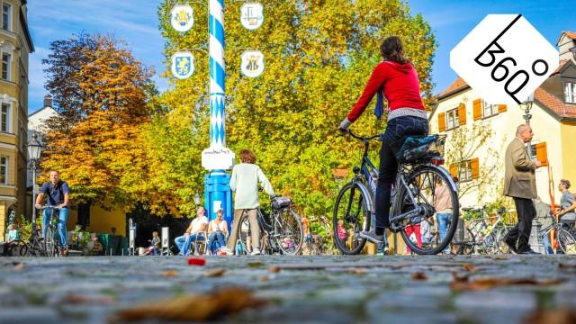 360° Problemstraßen in München Erfahrungen eines notorischen Radfahrers