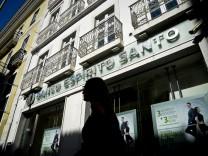Espírito Santo Portugal-Krise