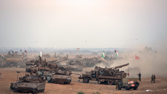 Israel launches offensive in Gaza