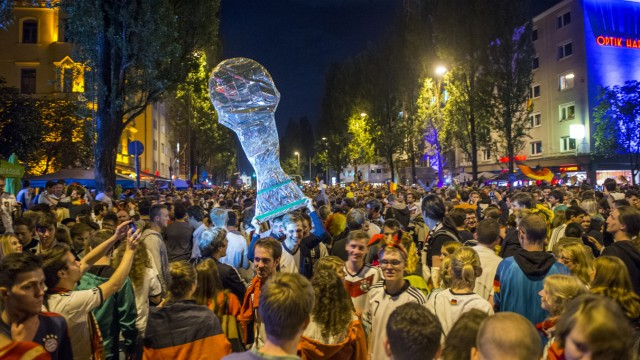 World Cup 2014 - Leopoldstraße München