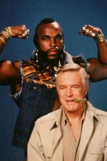 Mr T als B.A. Baracus mit George Peppard