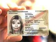 Elektronischer Personalausweis Muster Phishing Sicherheit Cebit, AP