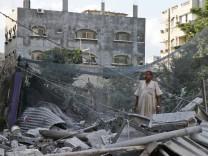 Raketenangriffe Gaza