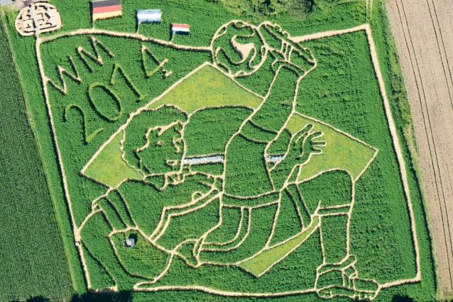 World Cup 2014  - Fußball-Labyrinth