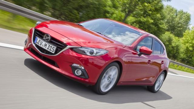 Mazda 3 Front Seite Fahr