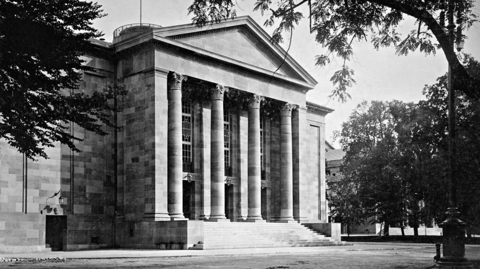 Königliches Hoftheater in Stuttgart, 1912