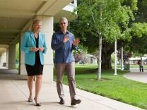 Apple Tim Cook und IBM Gini Rometty