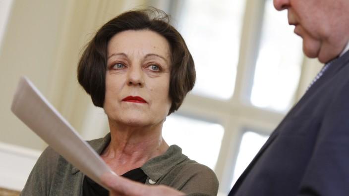 Herta Müller erhält Bayerischen Maximiliansorden, 2013