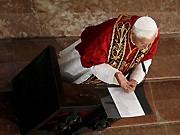 Papst Benedikt, ddp