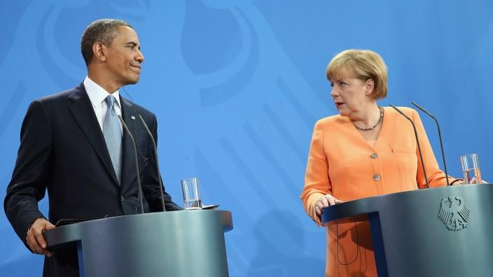 President Obama Visits Berlin