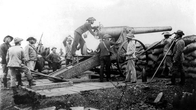 Artillerie der Buren, 1899