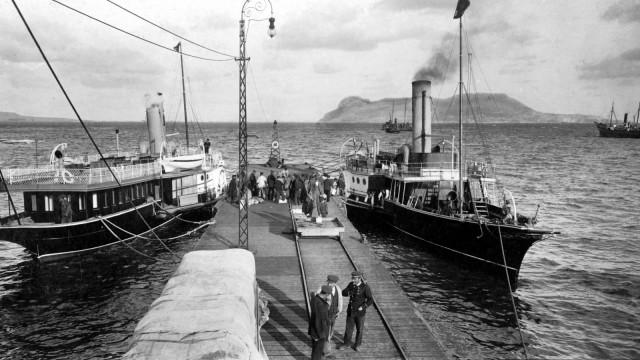 Der Landungsplatz von Algecoras 1906