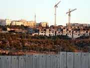 Jüdische Siedlungen; dpa