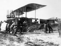 Deutscher Flieger im 1. Weltkrieg