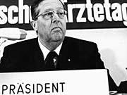 Hans-Joachim Sewering ärztepräsident euthanasie-verdacht dpa