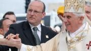 Papst Benedikt XVI., afp