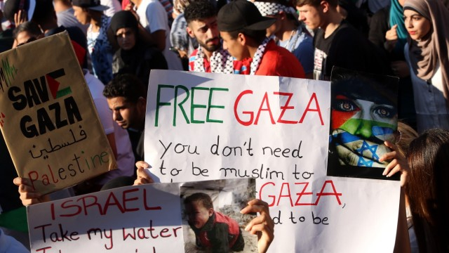 Pro Palestinian Demonstrations Are Held Throughout Europe