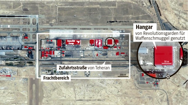 Teheran Waffen in Nahost
