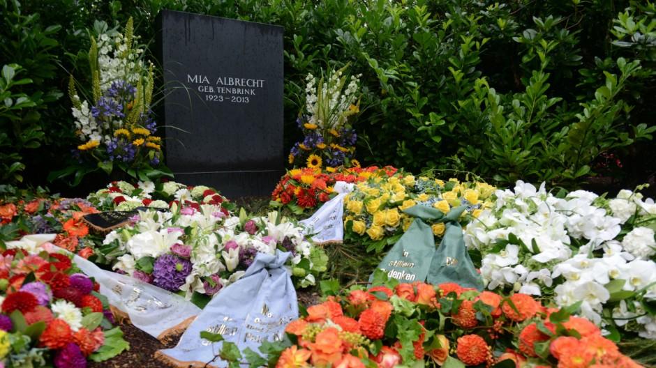 Grab von Aldi-Mitgründer Karl Albrecht
