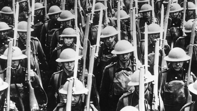 Englische Truppen an der Westfront | English troops at the Western Front
