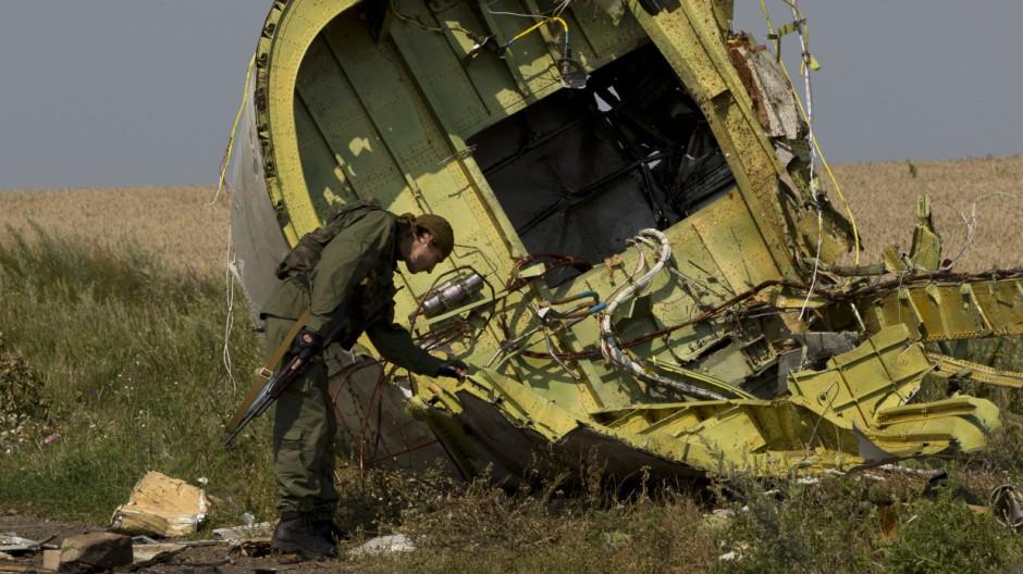 Malaysia Airlines MH17 Abschuss von Flug MH17