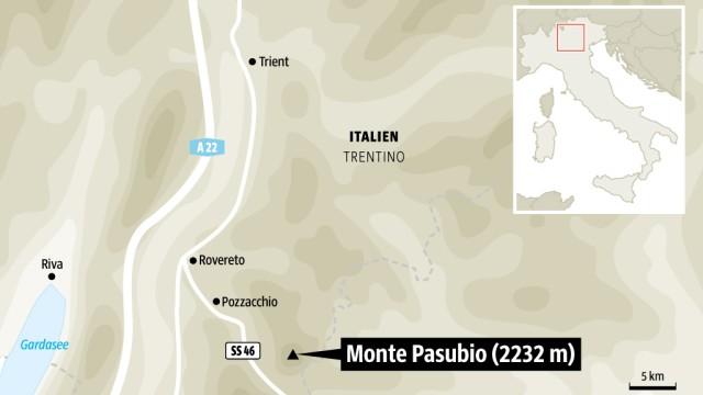 Italien Sentiero della Pace in Norditalien