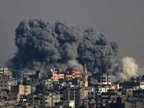 Airstrikes on Gaza