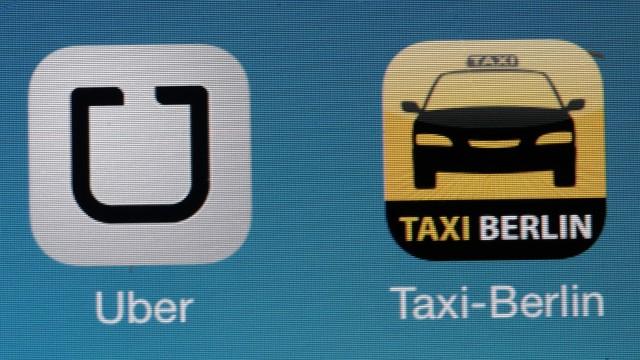 Mitfahrdienst Uber