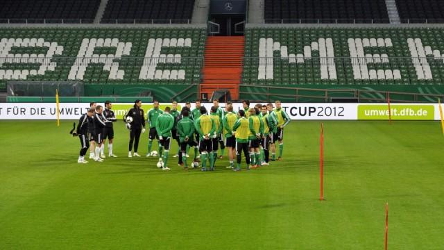 Nationalmannschaft in Bremen