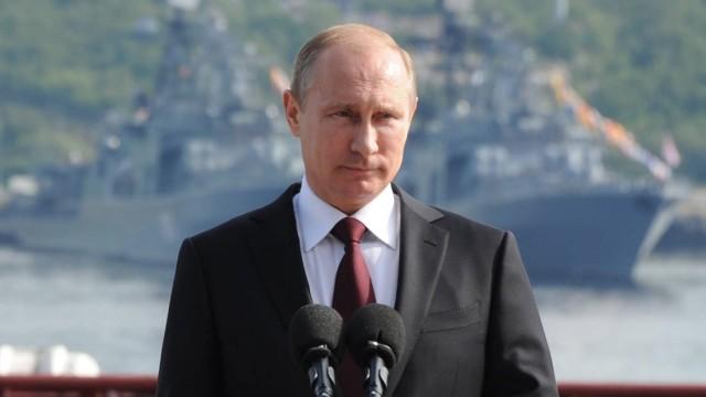Russian President Vladimir Putin visits Severomorsk