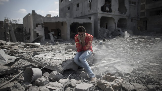 Gaza Israel Bomben