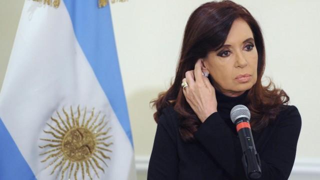 Argentinien Schulden Hedgefonds Cristina Fernandez de Kirchner